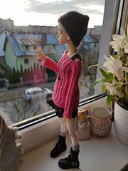 Greta 😍 (Coco Dolls) Tags: dimdolllarina dollzone dollzonebody hybrid dimlarina dimdoll bjd doll dolls bid knitting loveknitting