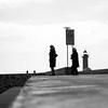Winter day (Francisco (PortoPortugal)) Tags: 2842017 20130308p30802442 bw nb pb monochrome pessoas people street rua fozdodouro porto portugal portografiaassociaçãofotográficadoporto franciscooliveira