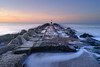 Long Groyne (burrills) Tags: colour rocks sunrise longgroyne landscape leefilters groyne wclx100 sea x100f sooc seacscape hengistburyhead beach uk landscapephotography