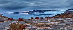 Eqip Sermia Glacier Panorama, Greenland
