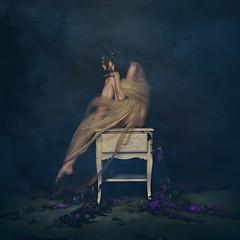 gossamer (brookeshaden) Tags: fineartphotography conceptualphotography brookeshaden delicate lace vines smoke