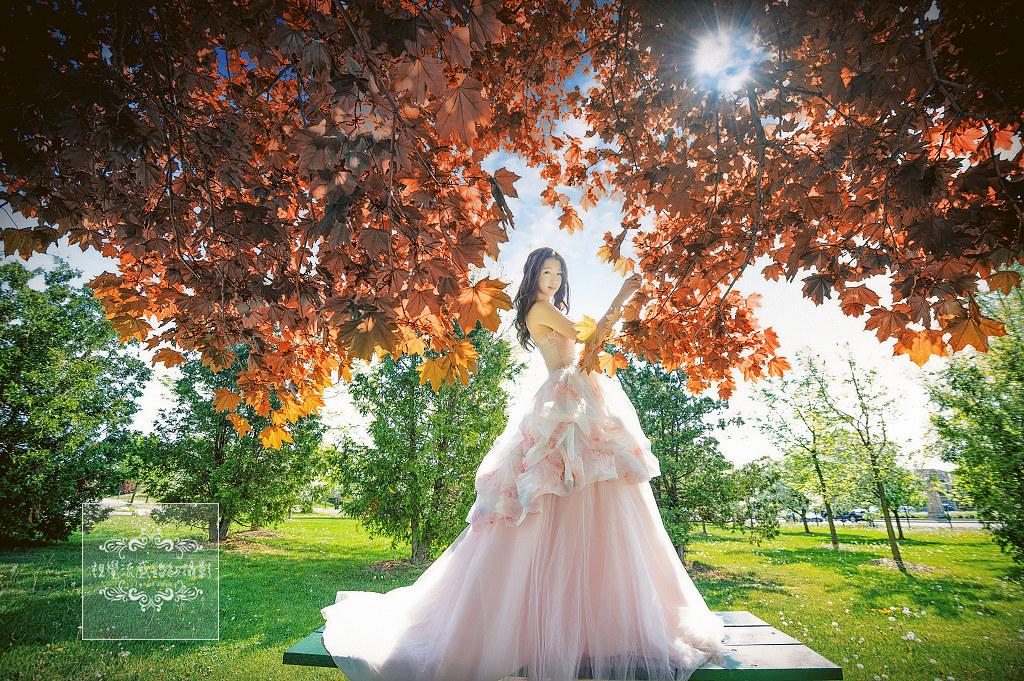 海外婚紗,婚禮,攝影,自助旅拍,國外,寫真,加拿大,多倫多,RICHMOND GREEN
