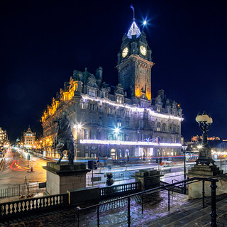 Edinburgh - Balmoral at Christmas