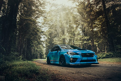 Sunday Stroll (Evoked Photography) Tags: evoked evokedphotography evokedphoto subaru sti hyperblue te37