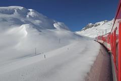 MGB - Oberalp Pass (Kecko) Tags: 2017 kecko switzerland swiss schweiz graubünden graubuenden gr matterhorngotthardbahn railway railroad mgb eisenbahn schnee snow winter zug train oberalp pass oberalppass swissphoto geotagged geo:lat=46656720 geo:lon=8675550