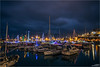 .H.A.R.B.O.U.R. .L.I.G.H.T.S. (Kevin HARWIN) Tags: harbour light christmas xmas boats sea water reflections ramsgate kent south east uk england britain canon eos 70d sigma 1020mm lens