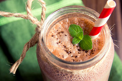 čoko_smoothie (radka_nohejlova) Tags: chocolate smoothie milkshake shake milk drink glass sweet cold cream dessert beverage food ice fresh brown healthy cocoa white dairy background smoothies delicious banana protein tasty frappe wooden straw cocktail breakfast table energy refreshment creamy cool nutrition diet closeup mint cafe refreshing snack mixed jar rustic cacao