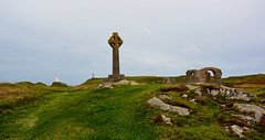 Llanddwyn Island Cross (Joan's Pics 2012) Tags: llanddwynislandcross anglesey island celticcross pilgrimage takeninwales ruins chapel lighthouse explore