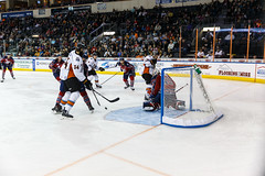 """Kansas City Mavericks vs. Kalamazoo Wings, January 5, 2018, Silverstein Eye Centers Arena, Independence, Missouri.  Photo: © John Howe / Howe Creative Photography, all rights reserved 2018. • <a style=""""font-size:0.8em;"""" href=""""http://www.flickr.com/photos/134016632@N02/38681931045/"""" target=""""_blank"""">View on Flickr</a>"""