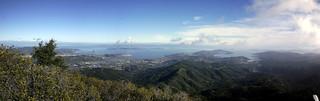 Panoramic vista at the
