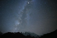 M I L K Y W A Y (hisalman) Tags: milkyway borithlake hunza pakistan gulmit glacier night longexposure stars galaxy canon
