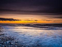 Hunstanton Sunset (Nigel Wallace1) Tags: hunstanton eastanglia sunset dramatic coastal norfolk beach sea sand pebbles uk colours colour colourful colors colourexplosion sky bigsky moodysky olympus olympusuk olympusflickraward