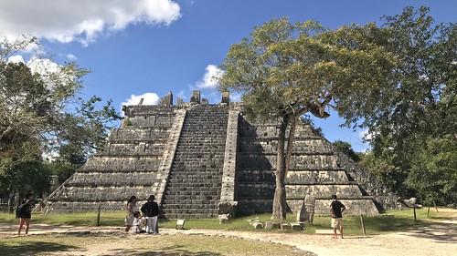 «Osario» en Chichén Itzá, Yucatán, Mexico