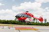 Die Besatzung der DRF Luftrettung startet in Villingen-Schwenningen zu einem Einsatz (Foto Christoph von Haussen) (DRF Luftrettung) Tags: h145 hubschrauber luftrettung drfluftrettung stationvillingenschwenningen christoph11 landeplatz