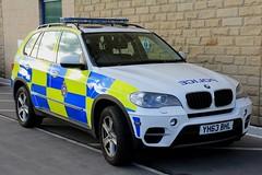 West Yorkshire Police BMW X5 Roads Policing Unit Traffic Car (PFB-999) Tags: west yorkshire police wyp bmw x5 4x4 roads policing unit rpu traffic car vehicle lightbar grilles fendoffs leds yh63bhl