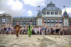 New Year Dip 2018 at Scheveningen (lybil) Tags: holiday year new happy diving winter sea christmas ocean gift celebrate water blue beach santa travel scuba present vacation white swim celebration young newyear woman red dive fun black business merry hat joy sport event people lifestyle bikini hobby festival netherlands body 2018 jump competition fitness smile unox dutch scheveningen first