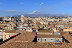 Catania, Italy - Mount Etna @Happy New Year (GlobeTrotter 2000) Tags: mount etna catania qicilia nye new year eve happy italy europe cityscape travel tourism volcano rooftop