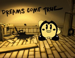 Kirby and the Ink Machine (keiththelegokid) Tags: kirby keiththelegokid bendy ink machine batim indie game parody crossover nintendo themeatly