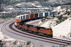 DSC_7295, Summit, CA (Cajon Pass). March 22, 2012 (Rkap10) Tags: bnsf california es44dc importedtags locomotives other railroad