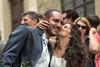 Now that's nice, Congratulations! (Steve Barowik) Tags: arezzo italy italia tuscany toscana nikond750 fx fullframe barowik stevebarowik sbofls26 holiday vacanza piazzagrande unlimitedphotos wonderfulworld quantumentanglement lovelycity nikonafs28300f3556gedvr zoom weddingguest marriage wedding ceremony