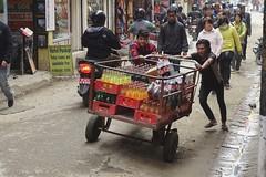 Coke dealer (posterboy2007) Tags: kathmandu nepal pushcart cocacola street cart sony