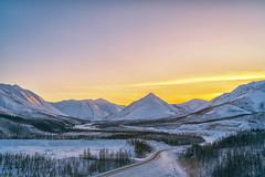 Sunset at Oymyakon (tehhanlin) Tags: russia oymyakon yakutia sony a7rm2 fe100400gm sunrise landscape sunset siberia photography uaz ngc
