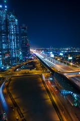 Room with a view (Gadjowsky) Tags: dubai businessbay uae nikon nikond5100 d5100 nightphotography night lightpainting longexposure