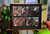 A Study in Red, White & Black (BKHagar *Kim*) Tags: bkhagar painting paint mixed mixedmedia red white black unstretched canvas study artstudio
