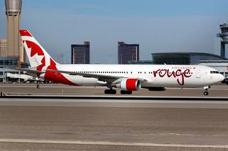 Air Canada Rouge   Boeing 767-300ER   C-GHLK   Las Vegas McCarran