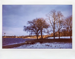 North Shore Coastline; viewed from Kings Point, New York (hogophotoNY) Tags: hogophoto instax fuji fujiinstax hogo usa us longisland instant film 2017 december2017