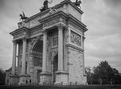 Porta Sempione,Milan, Italy (Sajivrochergurung) Tags: milan italy history art sculptor
