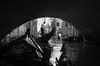 Gongola in Venice (Salvo.do) Tags: gondola venice venezia italia travel explore discover blackwhite blackandwhite blackwhitephotos black white bw pentax k5 1855wr 1855 photography canal canale trip water