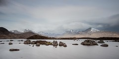 Loch na h-Achlaise and the Black Mount (Chris_Hoskins) Tags: lochnahachlaise wwwexpressionsofscotlandcom scottishlandscapephotography scotland argyllandbute scottishlandscape rannochmoor blackmount longexposure landscape