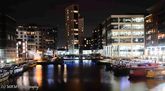 Clarence dock Leeds. (The friendly photographer.) Tags: longshutterspeed longexposure art britain city colour clarencedock d7100 dark england evening flickrcom flickr google googleimages gb greatbritain greatphotographers greatphoto image interesting leeds mamfphotography mamf nikon nikond7100 northernengland lights old photography photo pretoebranco photograph photographer town uk unitedkingdom upnorth urban barge barges boats westyorkshire yorkshire riveraire nighttime night