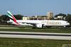 Emirates --- Boeing 777-300ER --- A6-EPN (Drinu C) Tags: adrianciliaphotography sony dsc rx10iii rx10 mk3 mla lmml plane aircraft aviation 777 emirates boeing 777300er a6epn