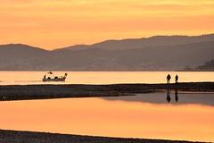 Albenga (Pier Romano) Tags: tramonto sunset mare sea foce centa liguria italia italy albenga