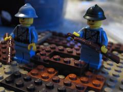WW1 (Franckybrique) Tags: lego soldat soldier ww1 tranchées