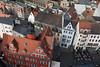 Halle/Saale in Vogelperspektive (Helmut44) Tags: deutschland germany sachsenanhalt mitteldeutschland halle vogelperspektive hausdächer haus gebäude marktplatz architektur