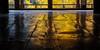 senjokaku shrine. miyajima 9377 (s.alt) Tags: miyajima 宮島 厳島 itsukushima shrineisland shrine island hiroshimabay hiroshimaprefecture senjokaku 千畳閣 senjōkaku japan autumn yellow leaf leaves wood woodenfloor structure texture figure maserung