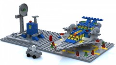 Miniscale 928 (LDD Building Instructions) by  Frombol (Repubrick.com) Tags: repubrickcom buildinginstructions lego ldd spaceship classicspace space 928 miniscale