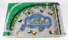 Buffalo Pool Overview, CU Boulder, Colorado (Imagine™) Tags: lego cuboulder buffalopool mosaic hitthebricks oldmain boulder campus legocampus imaginerigney theheritagecenter commission