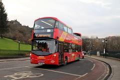 Lothian 222 SJ16CSO (busmanscotland) Tags: lothian 222 sj16cso sj16 cso edinburgh bus tours buses city sightseeing volvo b5tl wright eclipse gemini