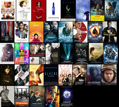 The 37 movies I saw in 2017 :)