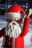 Good bye, Santa! (dididumm) Tags: goodbye winter snow sunshine red white santaclaus giant playmobil riesig xxl weihnachtsmann weiss weis rot sonnenschein schnee aufwiedersehen undtschüs