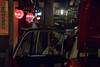 Time to go (21mapple) Tags: geisha kyoto japan japanese taxi cab city lights