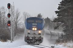 Amtrak 69 Westport NY (ERIE1960) Tags: railroad railfan trains locomotive amtrak passengertrain diesellocomotive dh westportny canadianpacific newyorkrailroads