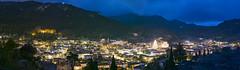 Esporles 00037-Pano (Sebas Adrover) Tags: españa esporles spain christmas longexposure nadal night serradetramuntana town tramuntana valley village