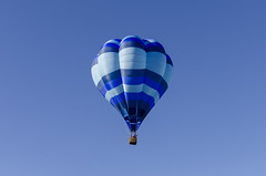 Blue (rschnaible (Not posting but enjoying your posts)) Tags: albuquerque balloon fiesta festival hot air new mexico fly flight sky color colorful west western southwest us usa outdoor sport vehicle transportation