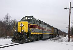 EL in the Snow (Erie Limited) Tags: norfolksouthern ns emd erielackawanna heritageunit ns1700 sd452 portreadingnj train railfan railroad