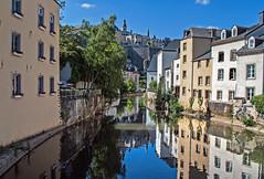 DSC_7415_ Au fil de l'Alzette (yves62160) Tags: paysage urbain rivière luxembourg alzette